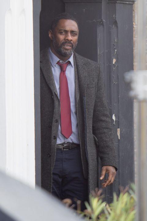 NO REUSE, Idris Elba, Luther, Series 5, filming