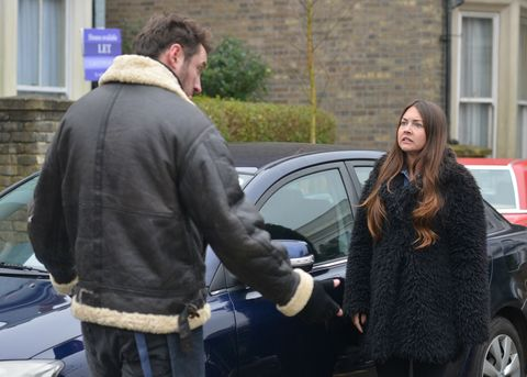 Stacey and Martin Fowler argue again in EastEnders