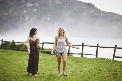 Brody Morgan and Ziggy Astoni's romantic spark doesn't go unnoticed by Maggie in Home and Away