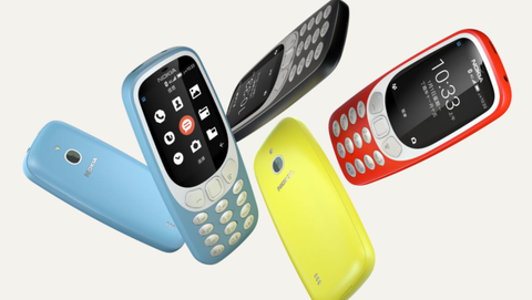 Nokia Is Relaunching The 3310 With 4G, Apps And Wi-Fi