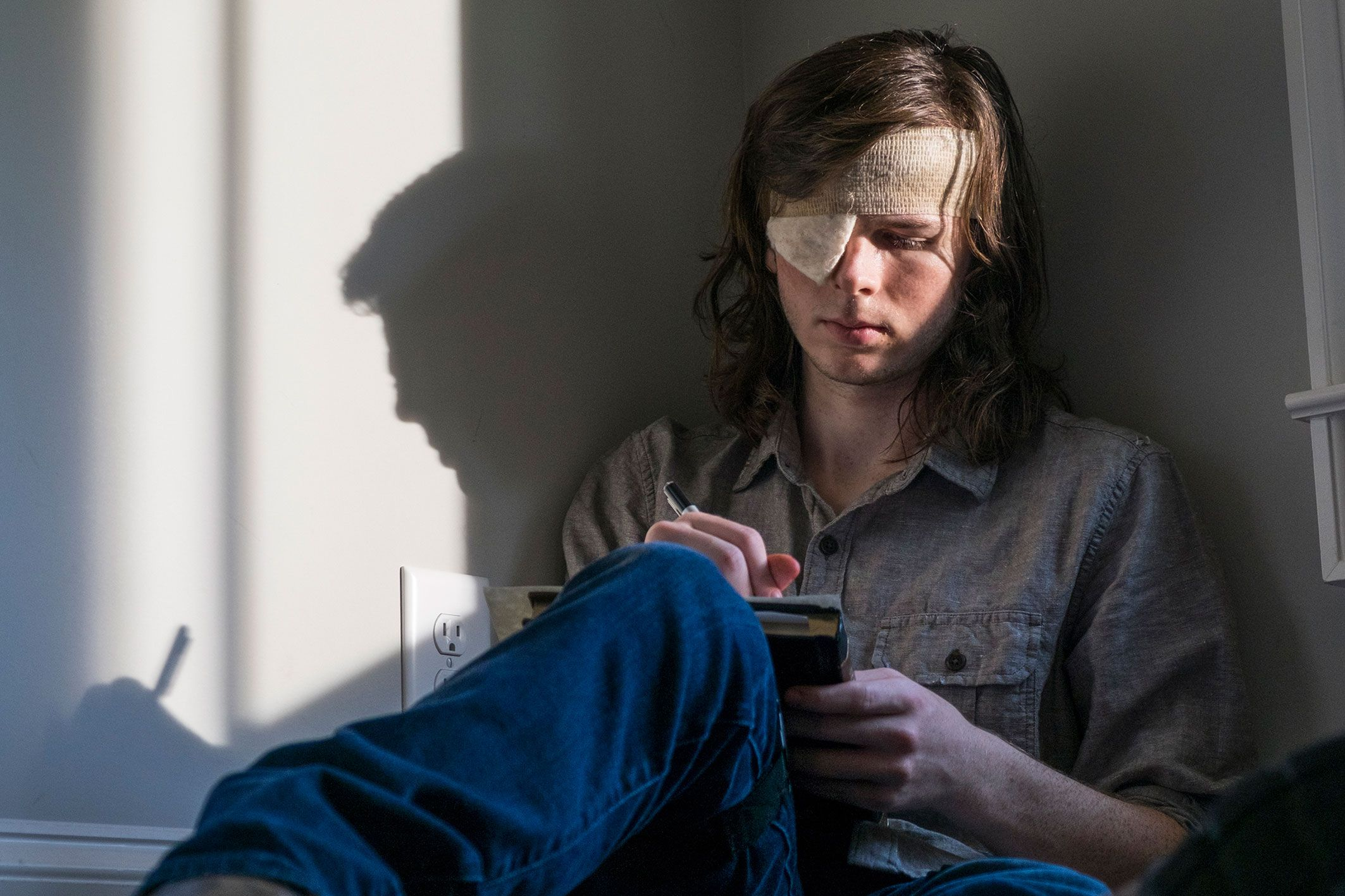 . Walking Dead s Carl actor Chandler Riggs admits to  lazy
