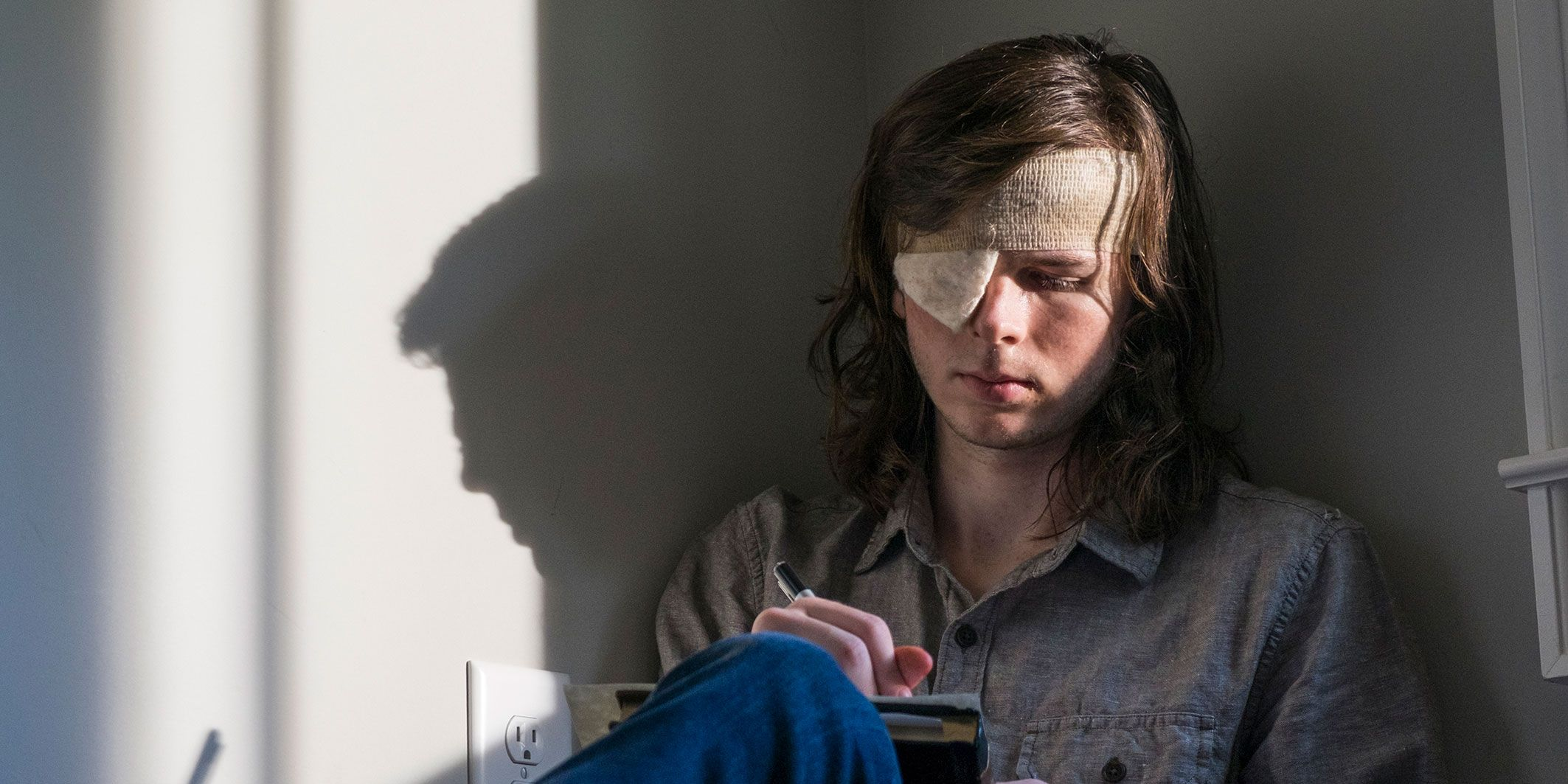 The Walking Dead, Season 8, Carl Grimes played by Chandler Riggs
