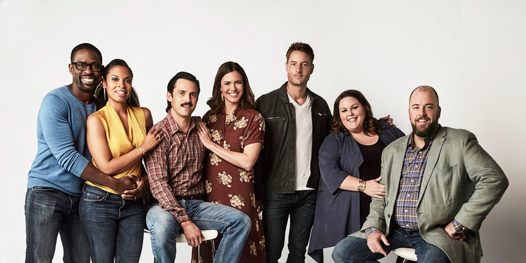 Sterling K Brown, Susan Kelechi Watson, Milo Ventimiglia, Mandy Moore, Justin Hartley, Chrissy Metz, Chris Sullivan, This is Us, Season 2