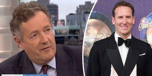 Piers Morgan, Brendan Cole, Good Morning Britain, Strictly Come Dancing