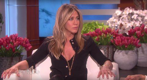 Jennifer Aniston on The Ellen DeGeneres Show 2/2/18
