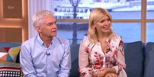This Morning's Phillip Schofield and Holly Willoughby looking confused, January 31