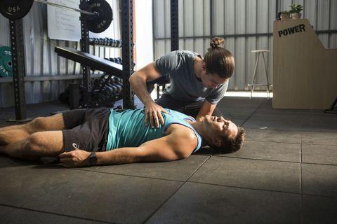 Tyler Brennan finds Aaron Brennan unconscious in Neighbours