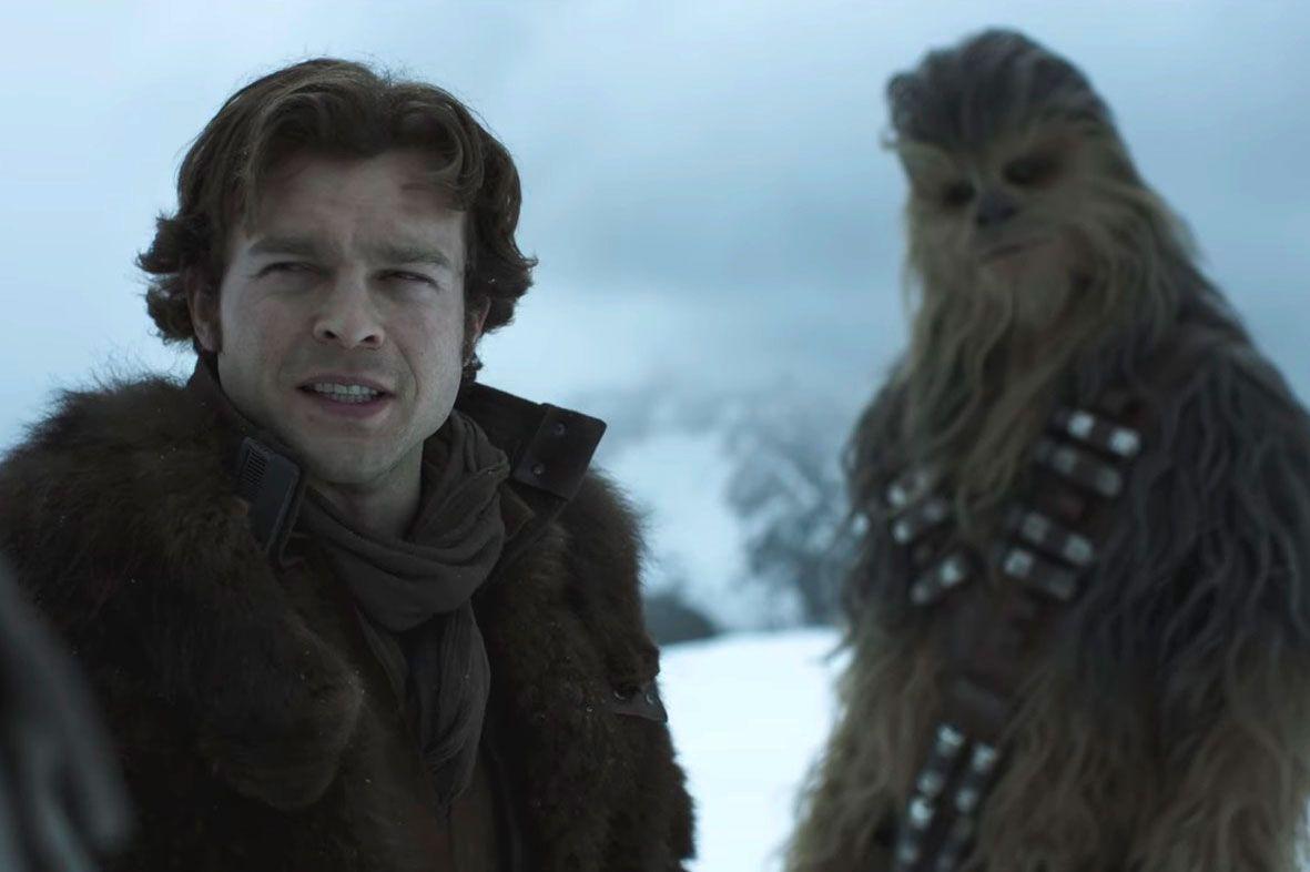 Solo: A Star Wars Movie, trailer, Han Solo, Chewbacca, Alden Enrenreich