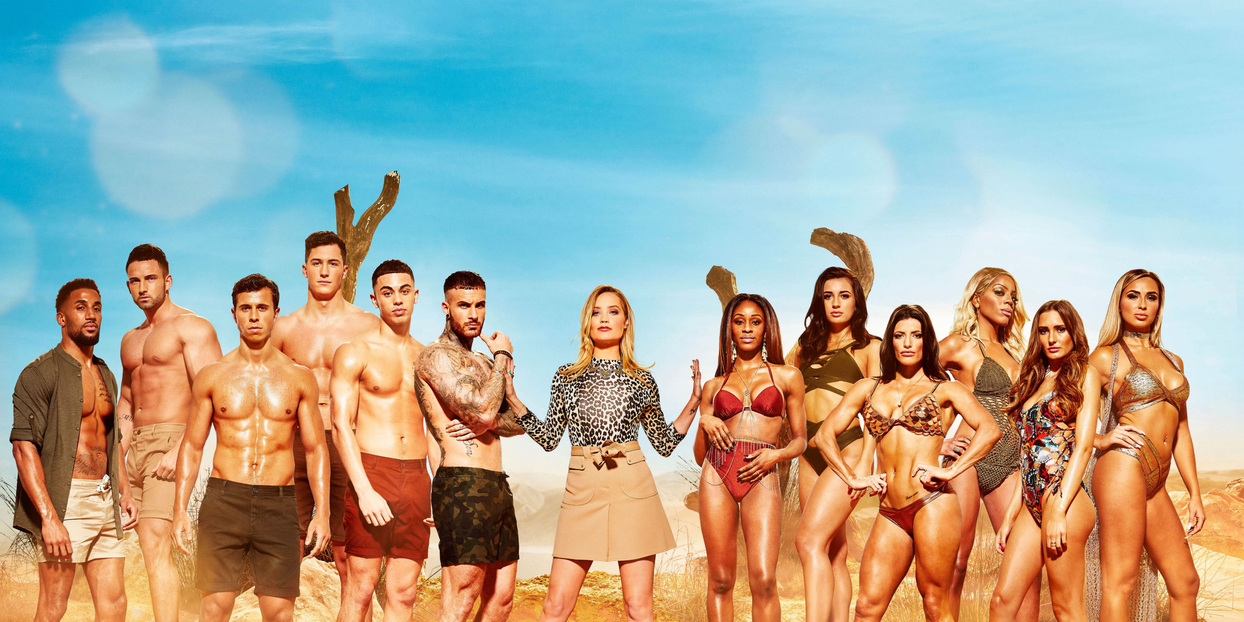 Laura Whitmore and the Survival of the Fittest cast 2018