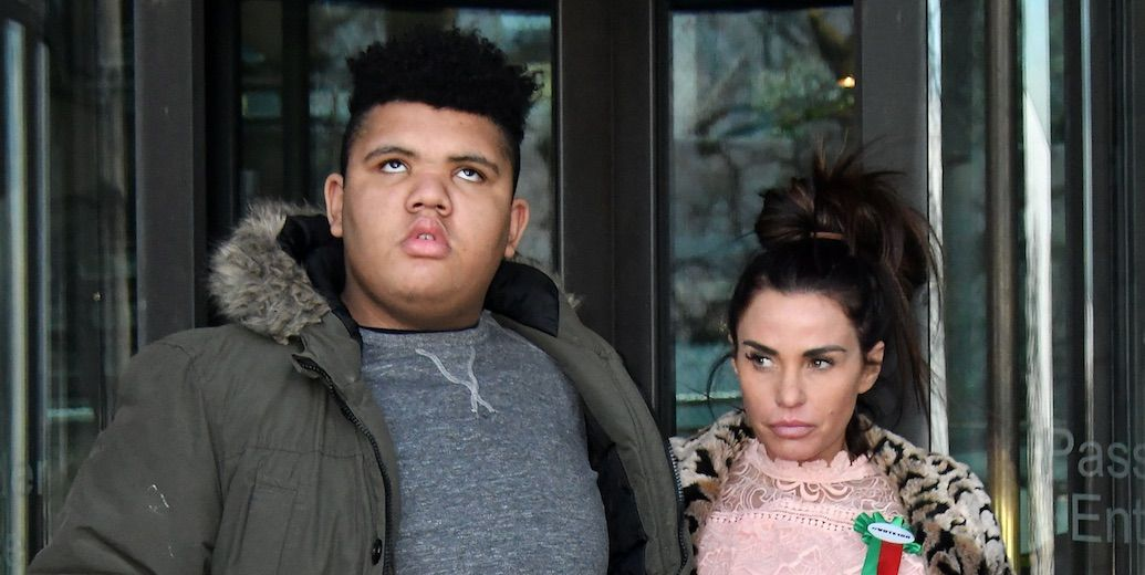 Katie Price reveals her son Harvey is in intensive care
