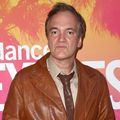 quentin tarantino attends the opening night of the sundance next fest in honor of quentin tarantino at the ace hotel theater