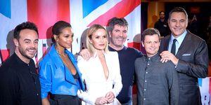 Ant McPartlin, Alesha Dixon, Amanda Holden, Simon Cowell, Declan Donnelly, David Walliams, at Britain's Got Talent BGT auditions, Manchester