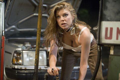 Fergie clarifies Quentin Tarantino bite from Planet Terror