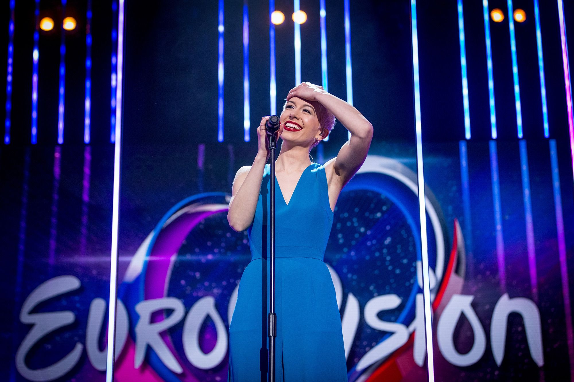 UK's Eurovision act SuRie describes getting through Eurovision: You Decide as the main hurdle