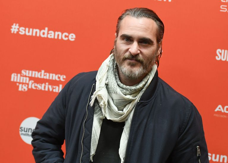 Joaquin Phoenix attends the 'Don't Worry, He Won't Get Far On Foot' Premiere