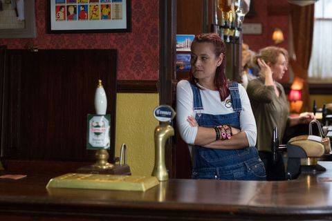Georgi visits Shirley and Tina Carter at the Queen Vic in EastEnders