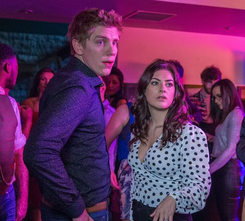 Aaron Dingle sees Robert Sugden with another man in Emmerdale
