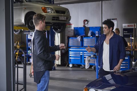 Jarrod causes tension with Justin Morgan in Home and Away