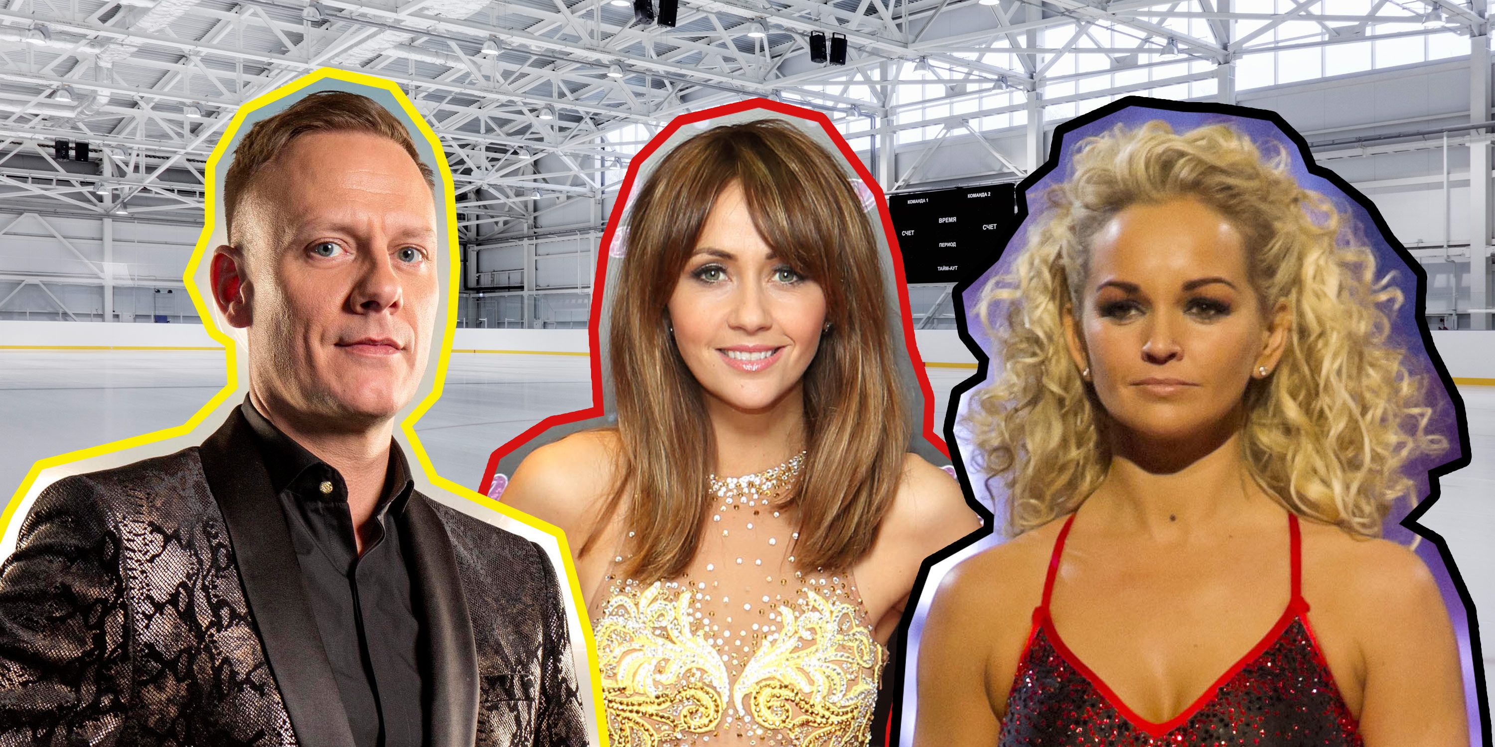 Antony Cotton, Samia Ghadie, Jennifer Ellison, Dancing on Ice, Injury