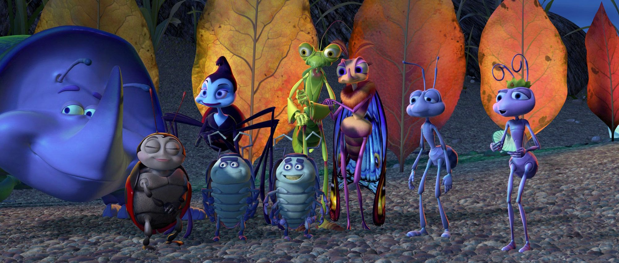 a bugs life characters