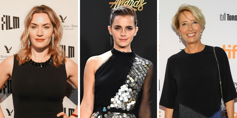 Kate Winslet, Emma Watson and Emma Thompson