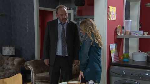 Jimmy King feels under pressure from Nicola in Emmerdale