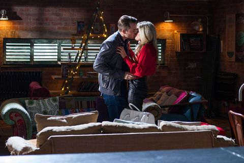Darren Osborne and Mandy Richardson continue their affair in Hollyoaks