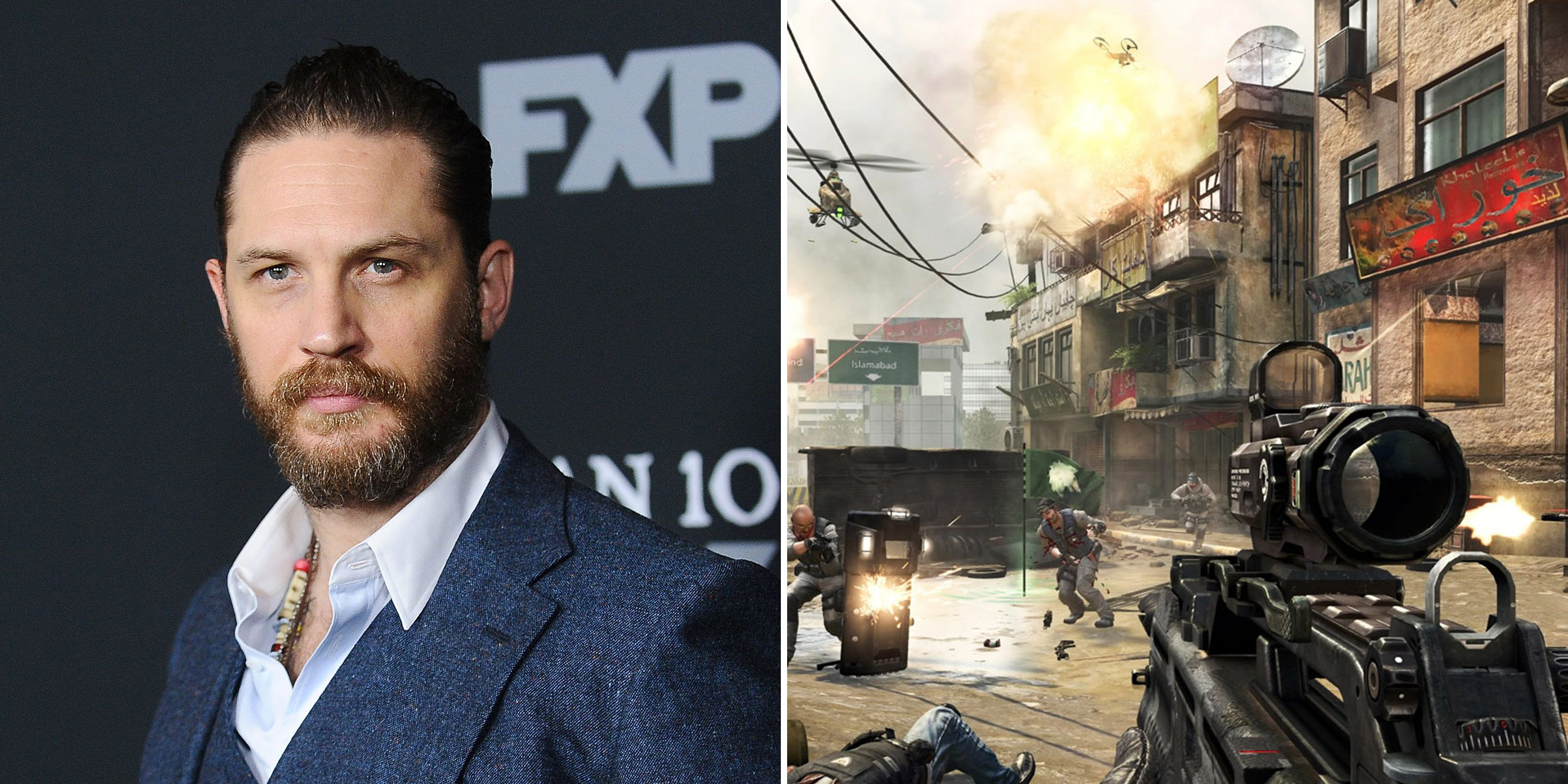Tom Hardy, Call of Duty