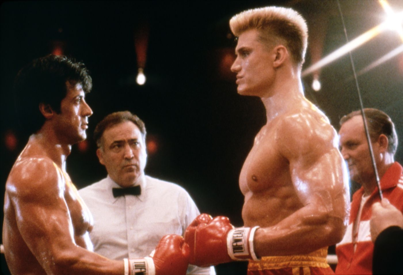 c4d3d103b18020 Creed 2  first look at Ivan Drago as Dolph Lundgren recreates classic Rocky  scene