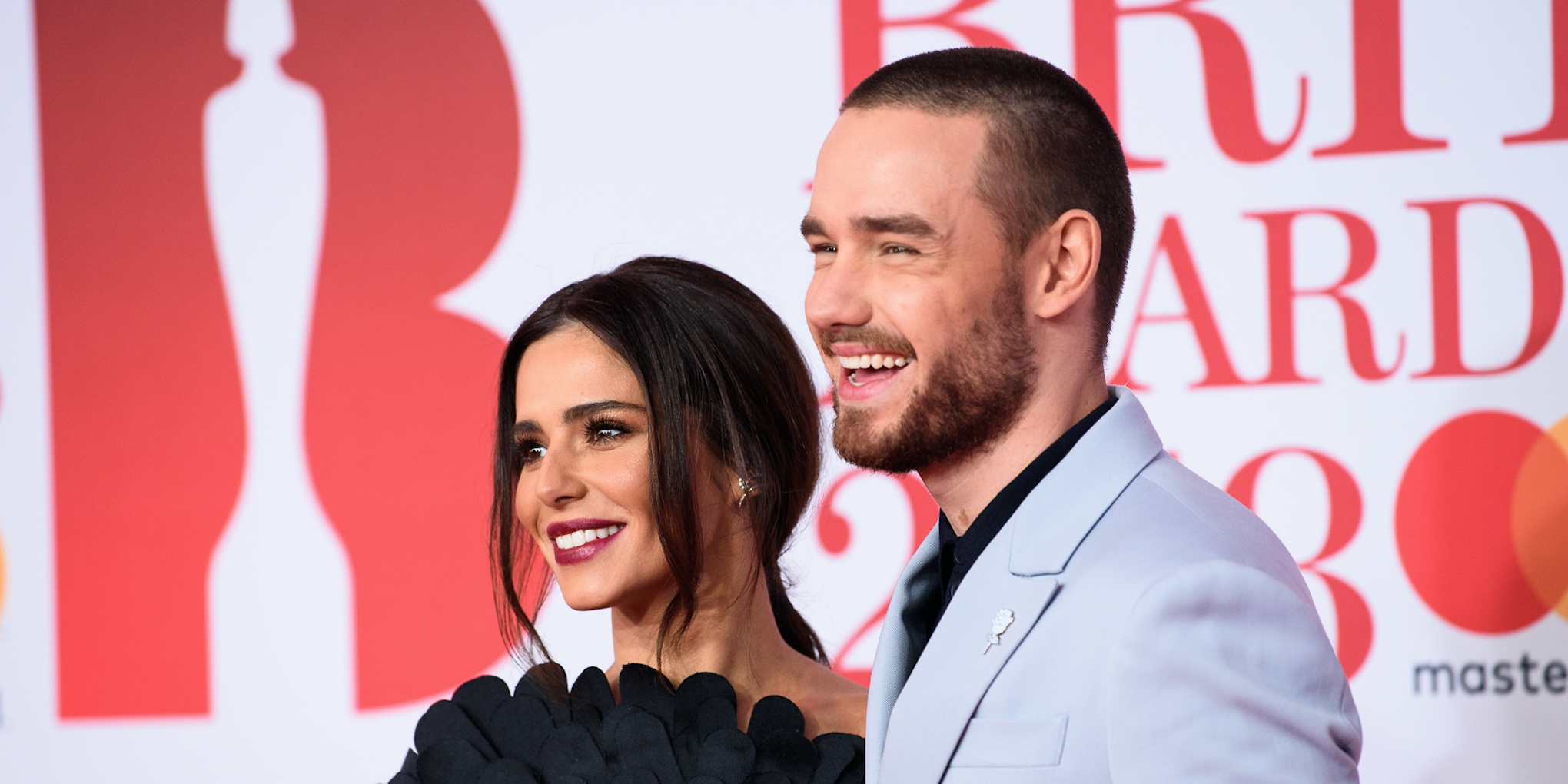 Cheryl and Liam Payne attends The BRIT Awards 2018 held at The O2 Arena on February 21, 2018 in London, England