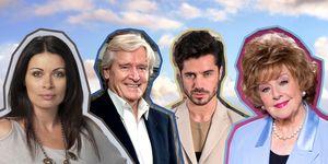 Carla Connor, Ken Barlow, Rita Sullivan, Adam Barlow, Coronation Street Cast