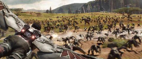 Falcon in Avengers: Infinity War trailer Wakanda war