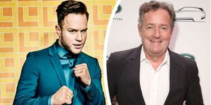 Olly Murs and Piers Morgan