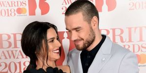 Cheryl (L) and Liam Payne attend The BRIT Awards 2018 held at The O2 Arena on February 21, 2018