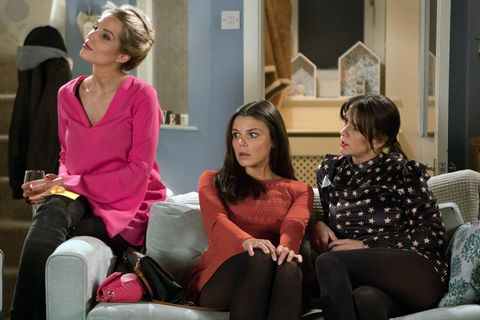 Kate Connor faces an awkward situation with Sophie Webster in Coronation Street