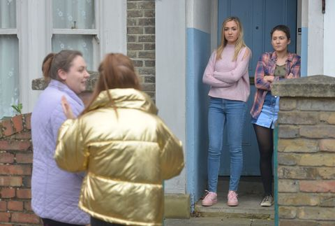 Bernadette Taylor tries to make friends in EastEnders