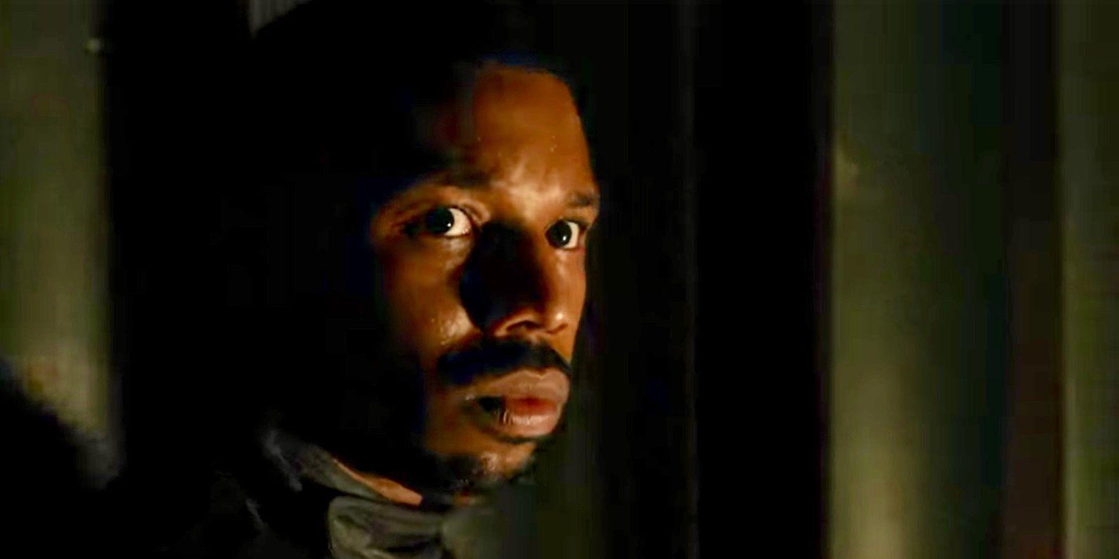 Michael B Jordan in Fahrenheit 451