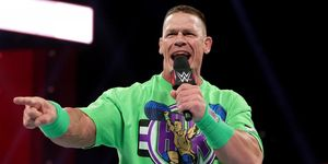 John Cena on WWE Monday Night Raw
