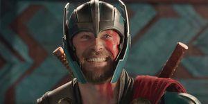 Thor: Ragnarok Chris Hemsworth grin