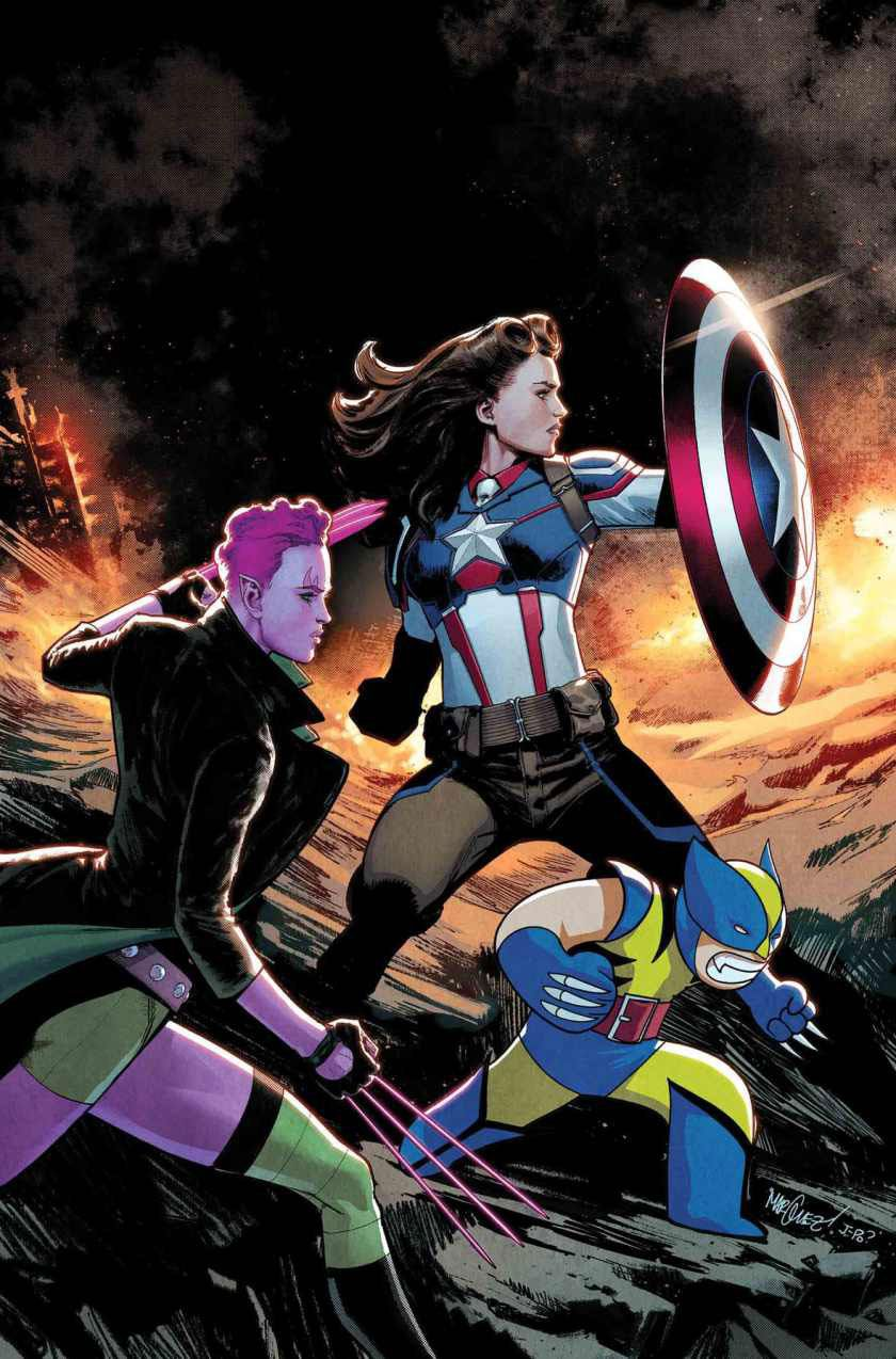 marvel transforms peggy carter into the new captain america – aka