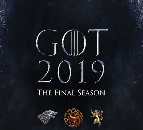 Game of Thrones, final season poster 2019