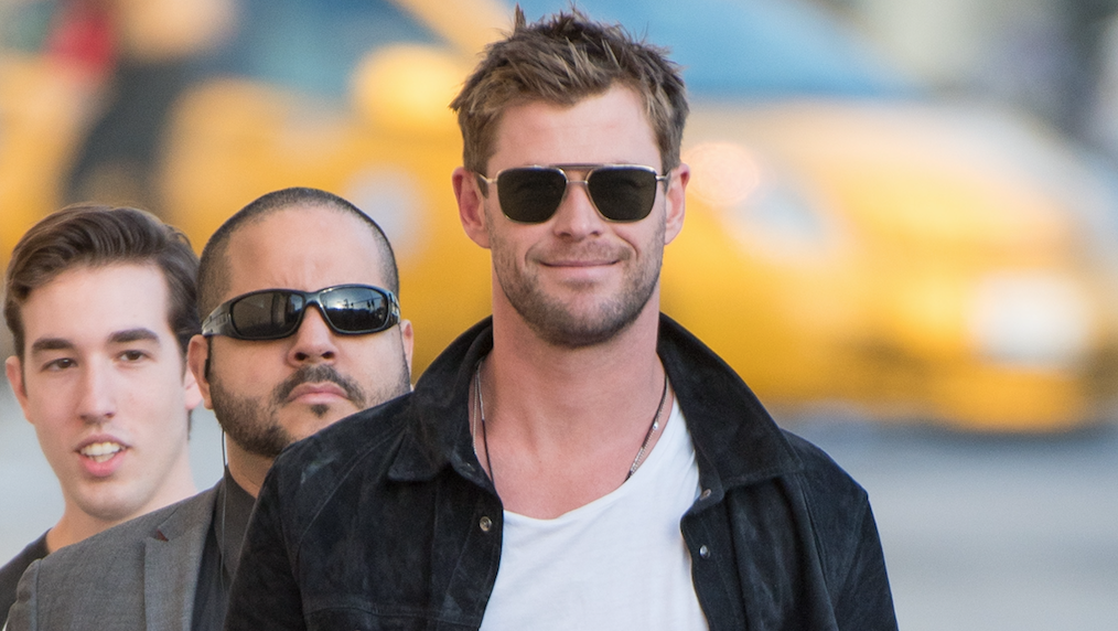 Chris Hemsworth shares first official Men in Black reboot image