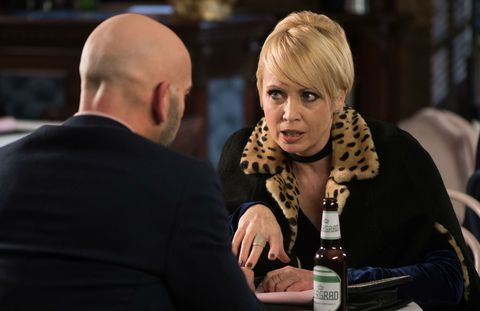 Buster Smith and Marnie Nightingale have a date in Hollyoaks