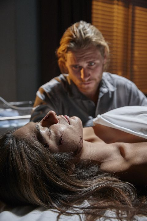 Ash mourns for Kat Chapman in Home and Away