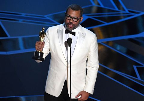 jordan peele acceptance speech after he won the oscar for best original screenplay for 'get out'