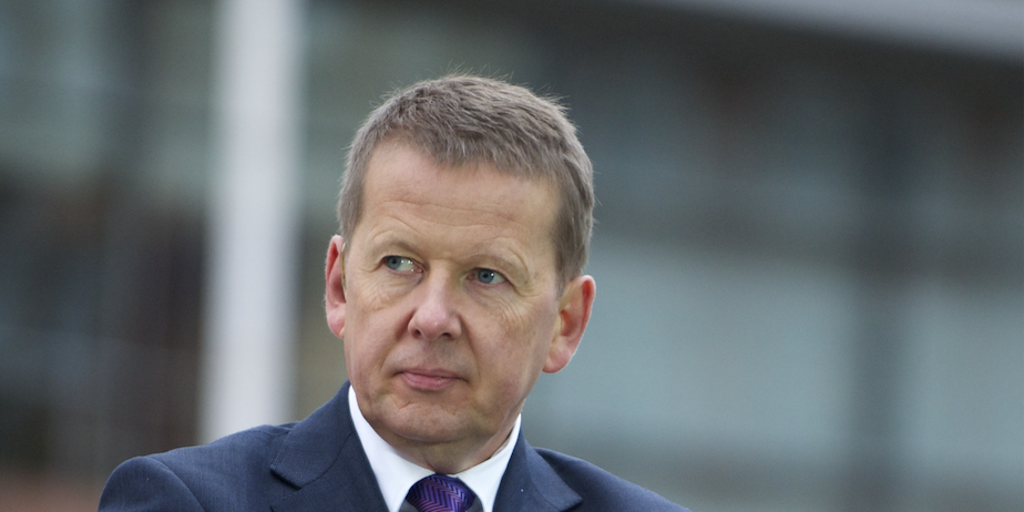 BBC presenter BILL TURNBULL