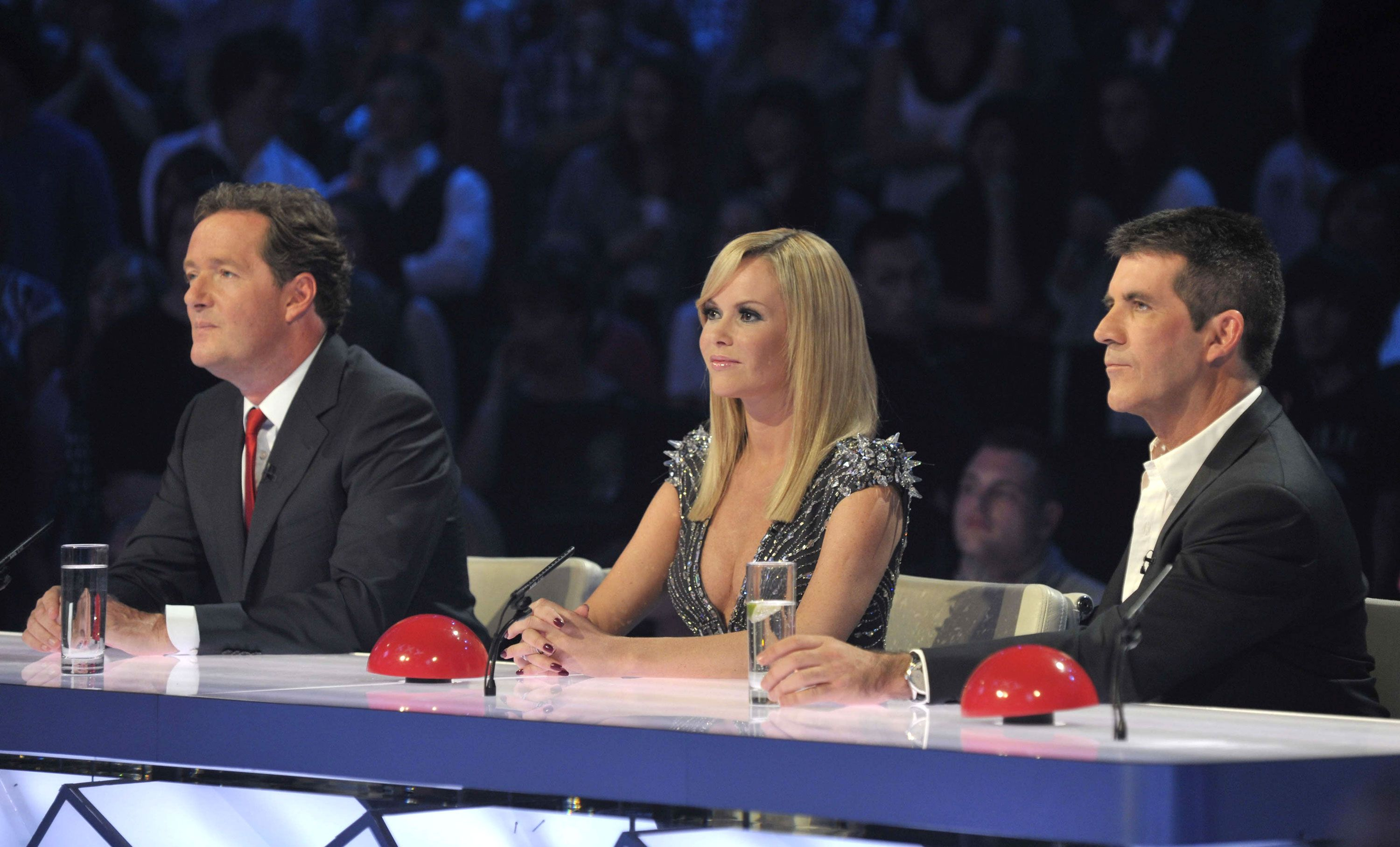 Piers Morgan as a judge on Britain's Got Talent with Amanda Holden and Simon Cowell | Credits to Digital Spy