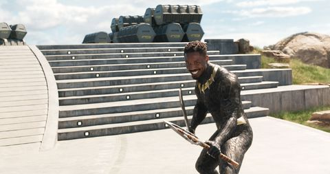 Michael B. Jordan as Killmonger, Black Panther