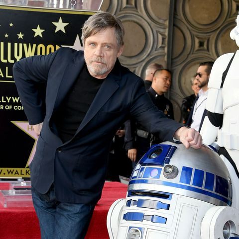 "Mark Hamill pokes fun at Star Wars costume and Luke Skywalker's ""droopy drawers"""