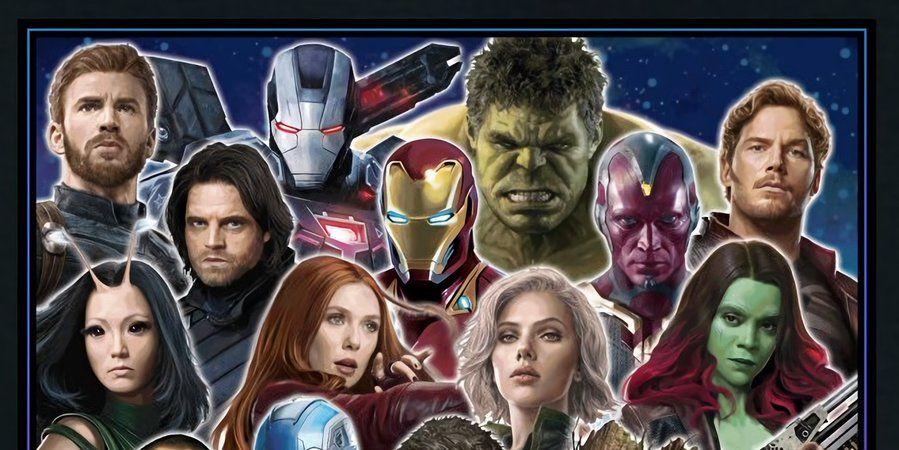 Avengers: Infinity War art